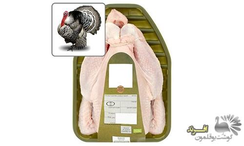 فروش گوشت بوقلمون کیلویی